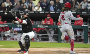 Marsh Homers Off Kopech in 8th, Angels Top White Sox 3-2