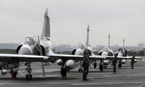 China Sends Record 56 Warplanes Near Taiwan, Continuing 4 Days of Incursions