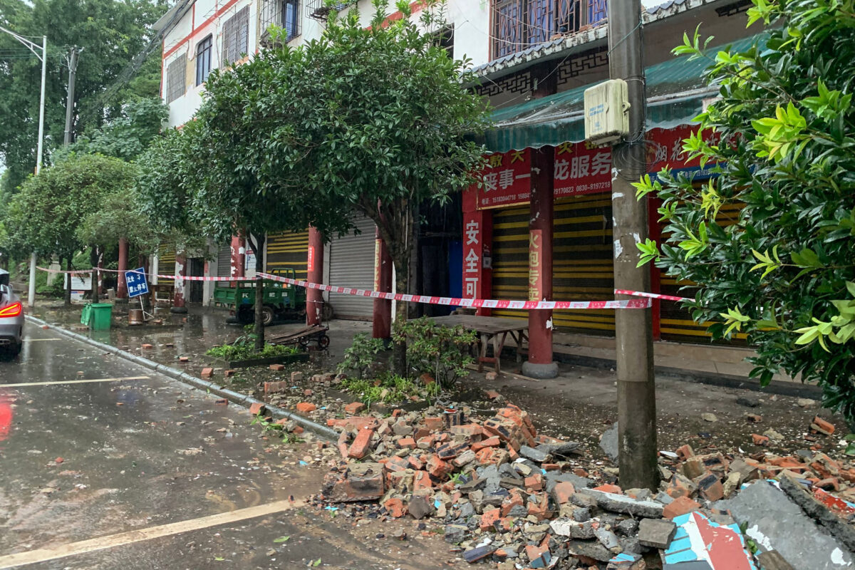 At Least 3 Dead After Earthquake Strikes Southwestern China