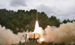 North Korea Again Shows Off New Weapon System: 'Railway-Borne Missiles'