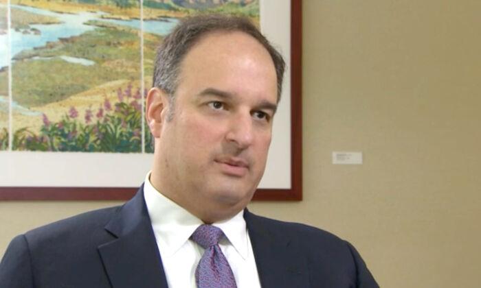Michael Sussman in an undated interview. (CNN/Screenshot via NTD)