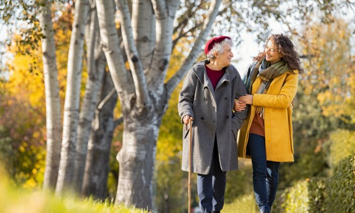 Walking was shown in a new study to dramatically lower the risk of dying from all causes. (Rido/Shutterstock)