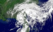 New Tropical Depression Forms; Odette Well Offshore