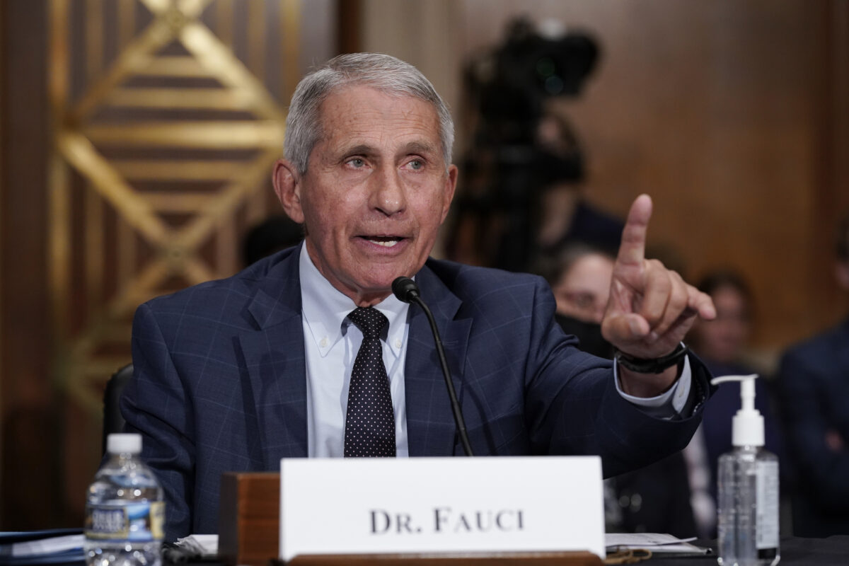 Fauci Says He Doesn't Anticipate Vaccine Mandates for Domestic Flights 'Immediately'