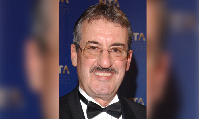 """""""Only Fools And Horses"""" star John Challis on Oct. 15, 2002. (Ian West/PA)"""