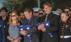 Mourners in California Honor 3 Marines Killed in Afghanistan