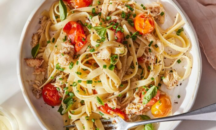 This pasta is low-effort, but the end result is a dinner elegant enough to serve any guest. (Kristin Teig/TNS)