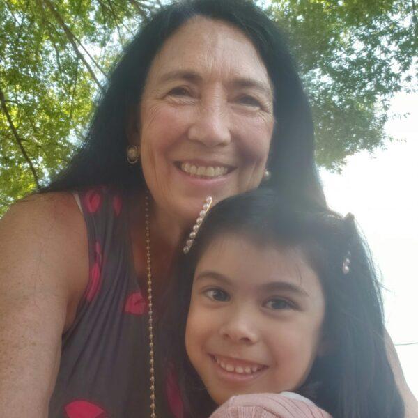 Anita and Maria Sherman August 2021