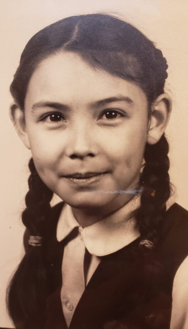 Anita in first grade