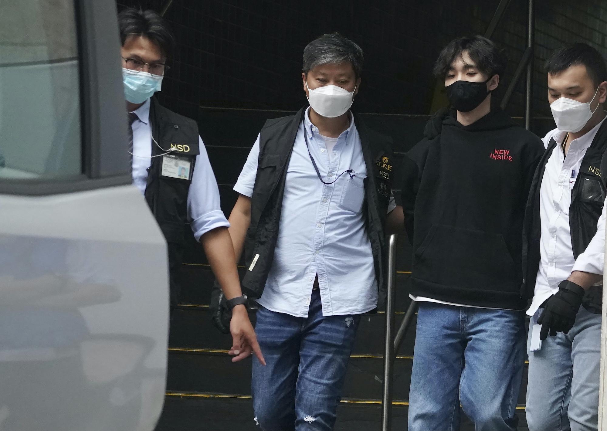 arrest Hong Kong national