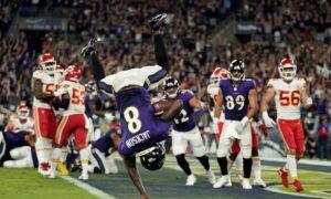 Lamar Jackson Finally Leads Ravens Over Chiefs 36–35
