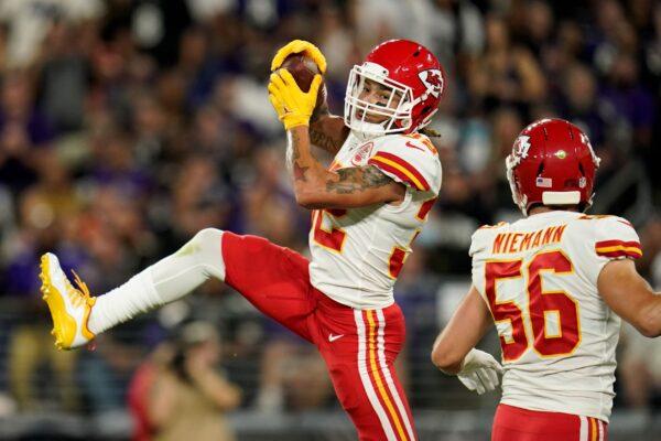 Kansas City Chiefs free safety Tyrann Mathieu