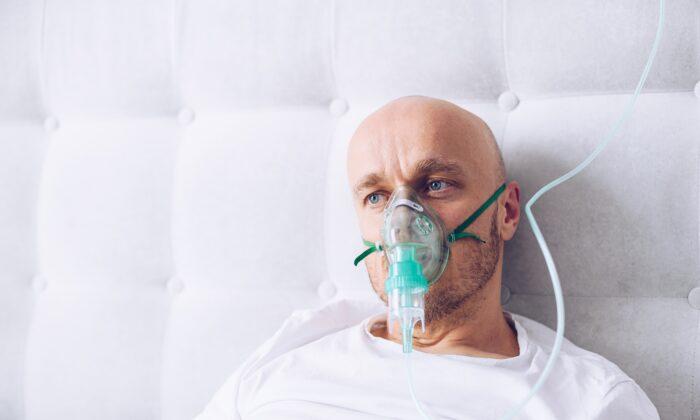 Respiratory problems can accompany a severe COVID infection. (Daniel Jedzura/Shutterstock)