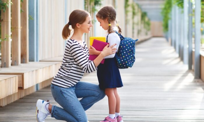 Some things never change about those early school days—memories are made and cherished by the young and old alike. (Evgeny Atamanenko/Shutterstock)