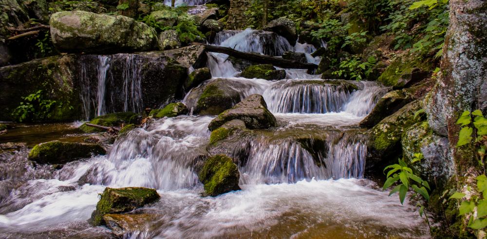 Waterfalls,Of,Crabtree,Falls,,Virginia.