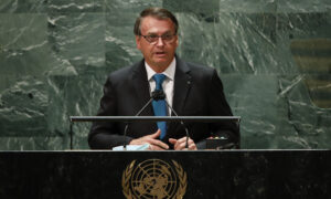 Unvaccinated Brazil President Defends Handling of Pandemic