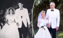 Air Force Veteran and His Wife Celebrate 59 Years of Marriage, Recreate Wedding Photos