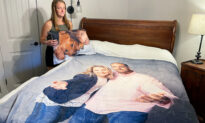 Parents Gift Freshman Daughter Prank Comforter-Pillow Set With Family Printed on Them