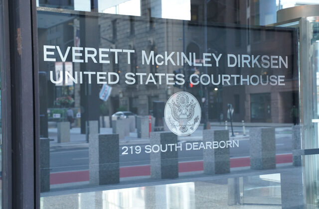 U.S. Dirksen Courthouse on 219 S. Dearborn, Chicago, Ill., on Sept. 21, 2021. (Cara Ding/The Epoch Times)