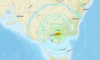 Man Injured in Australian Earthquake