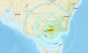 Magnitude 6.0 Earthquake Strikes Victoria, Tremors Felt Widely