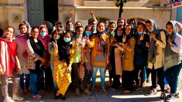 member of the Afghanistan national girls' soccer team