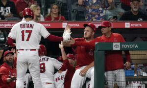 Ohtani Hits 45th HR While Surging Astros Rout Angels 10-5