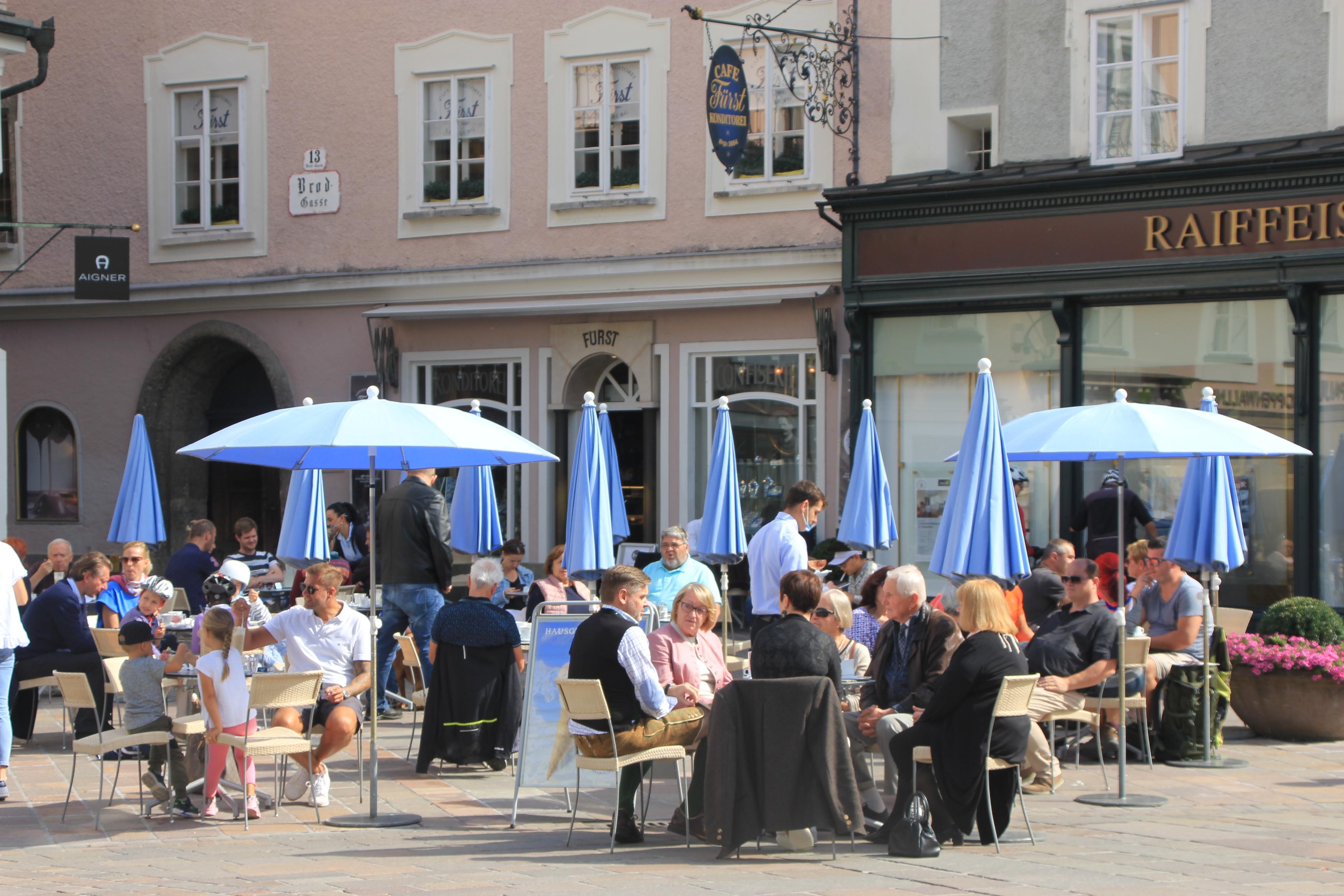 Café-Konditorei Fürst. (Copyright Wibke Carter)