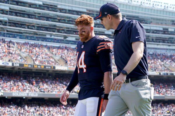 Chicago Bears quarterback Andy Dalton