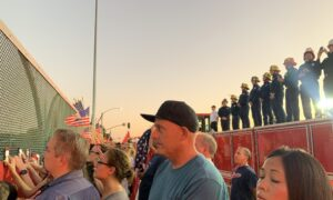 Remains of Marine Returned From Afghanistan, Thousands Pay Tribute in Procession