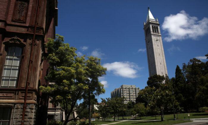 The UC Berkeley campus in Berkeley, Calif., on July 22, 2020. (Justin Sullivan/Getty Images)