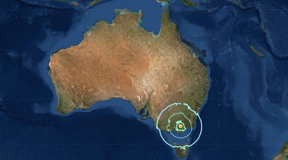 Rare Magnitude 5.8 Earthquake Strikes Australia's Victoria, Tremors Felt Widely
