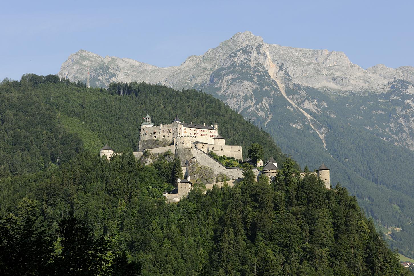 Fortress Hohenwerfen copyright Salzburg Burgen