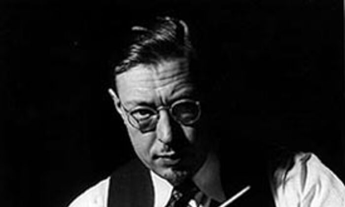 American composer, conductor, educator, and music theorist Howard Hanson. (Northwestern University Archives)