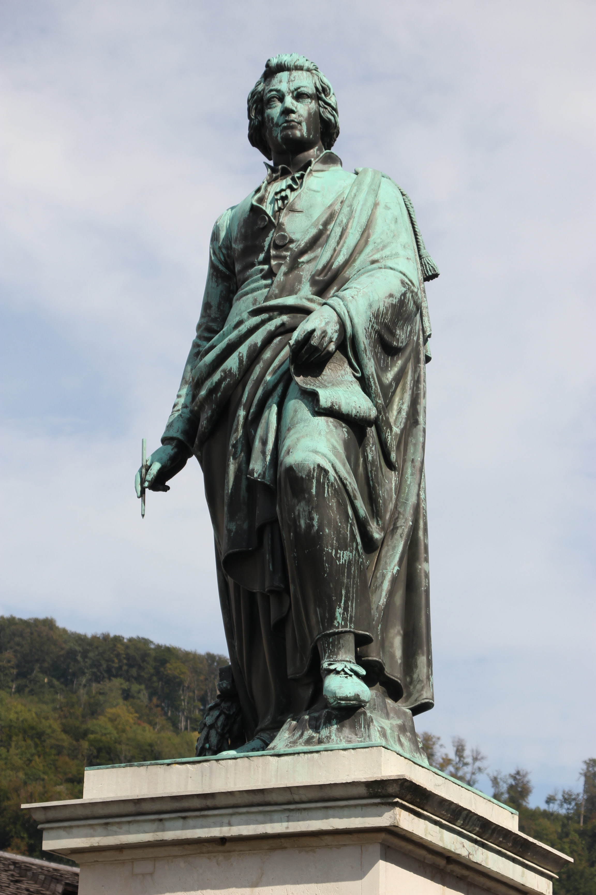 Mozart statue copyright Wibke Carter