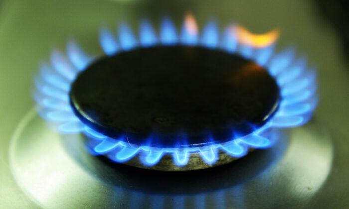 File photo showing a gas stove. (John Stillwell/PA)