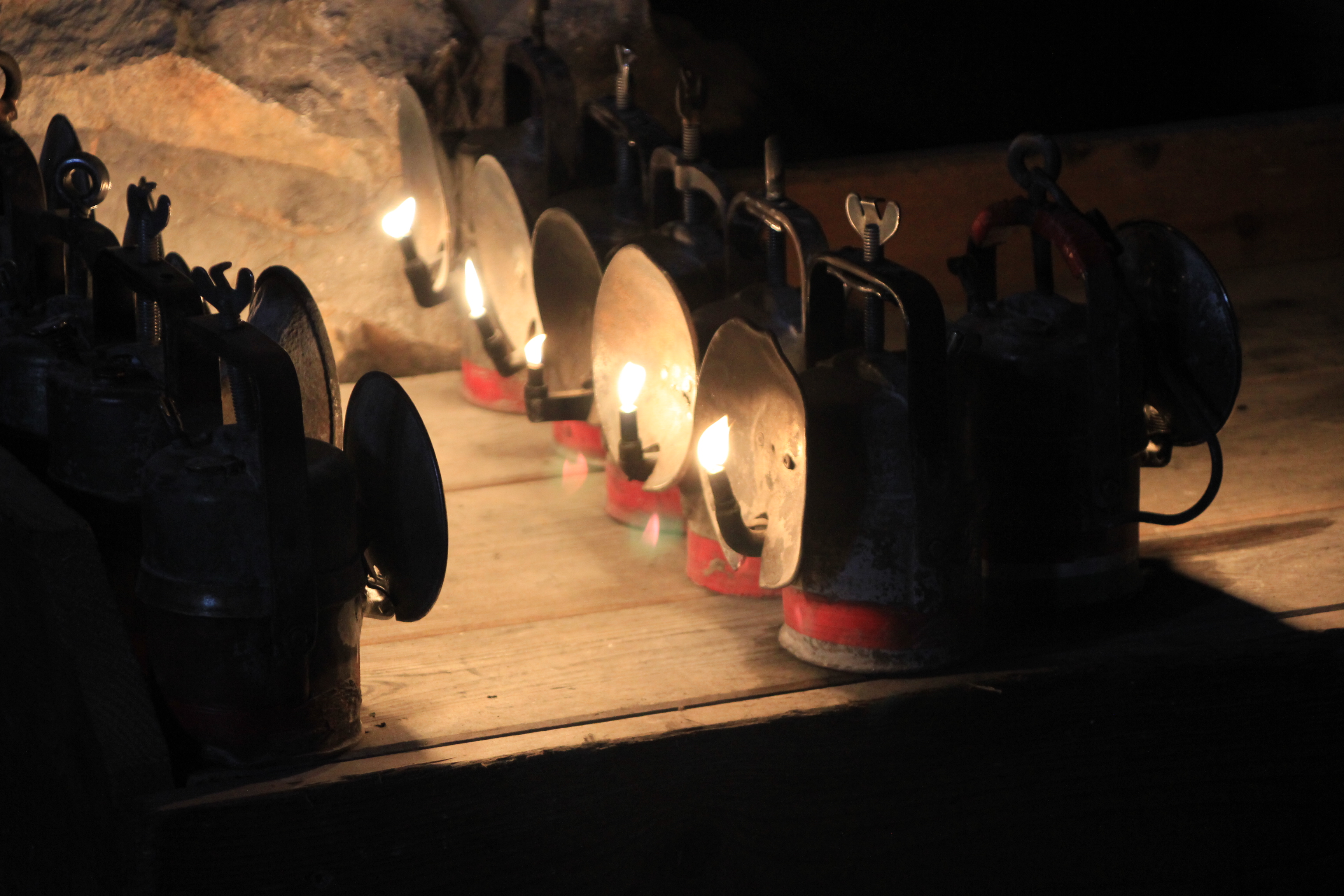 old oil lamps at Eisriesenwelt copyright Wibke Carter