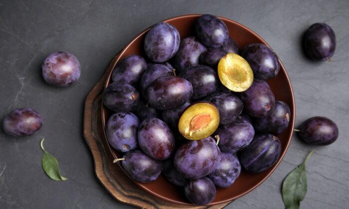 Whether eaten fresh or dried, plums offer a bevy of health-promoting properties. (New Africa/Shutterstock)