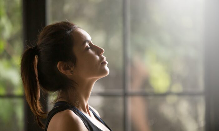 Breath work can help calm even the busiest of minds. (fizkes/Shutterstock)