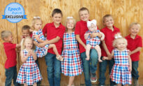 Couple With 11 Kids Homeschool Every Child on Their Mini Farm, Call Them a 'Gift From God'