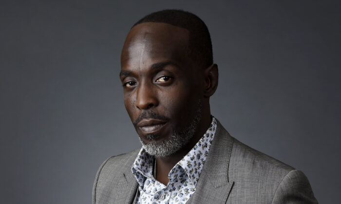 Actor Michael K. Williams poses for a portrait at the Beverly Hilton during the 2016 Television Critics Association Summer Press Tour in Beverly Hills, Calif., on July 30, 2016. (Chris Pizzello/AP Photo)