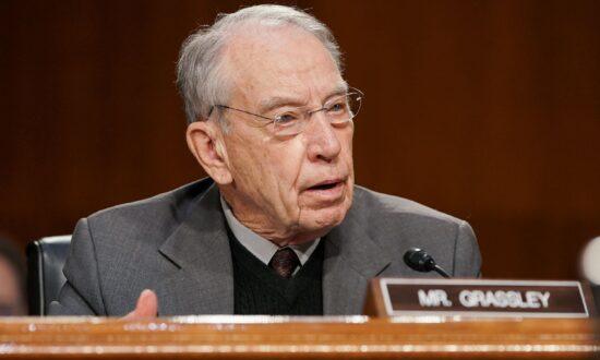 Sen. Chuck Grassley to Seek Eighth Term