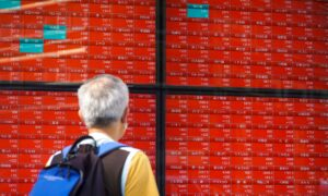 Asian Stock Markets Jittery as China Evergrande Woes Sap Confidence