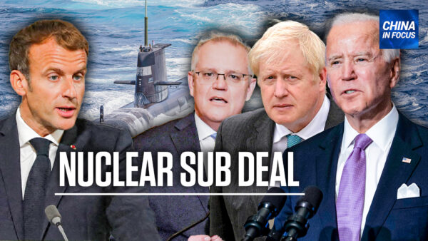 'The Bigger Threat Is Coming From China': Anders Corr on the AUKUS Submarine Deal