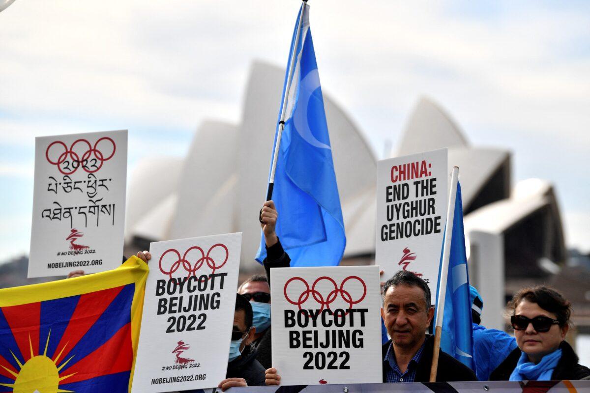 AUSTRALIA-OLY-2022-BEIJING-CHINA-POLITICS