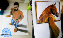 Talented Egyptian Artist's 3D Drawings Look So Real They Will Make You Do a Double-Take