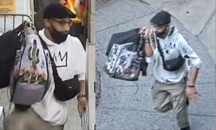 The New York Police Department released images of a suspect in a stabbing incident that was sparked over a spat over sugar in coffee at a Midtown McDonald's. (New York Police Department/TNS)