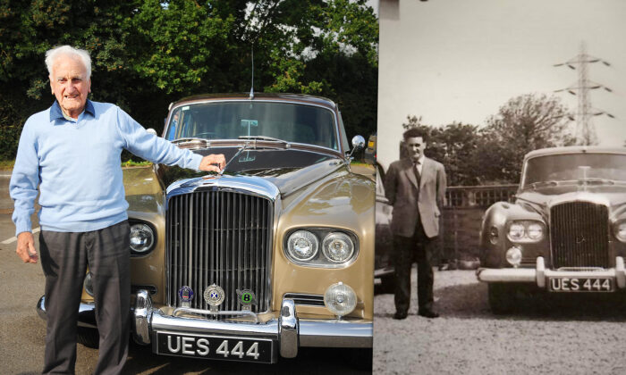 Retired Chauffeur Celebrates 100th Birthday, Gifted the Luxury Bentley He Drove 60 Years Ago