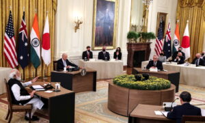 US Meets With Australia, India, Japan Amid Concerns Over Communist China Influence