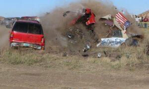 North Dakota Stuntman Known as Flying Farmer Crashes on Jump